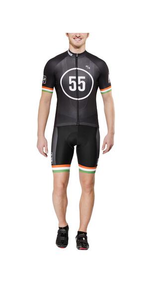 Bioracer EF 55 Pro Race Koszulka kolarska Mężczyźni czarny